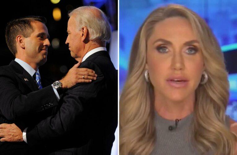 Lara Trump slams Biden claiming he's using late son Beau for 'political advantage' as he publicly grieves him