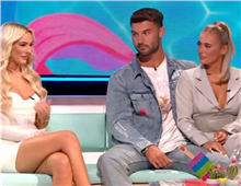 Love Island fans cringe as Liam makes awkward apology to Lillie in front of Millie on reunion show