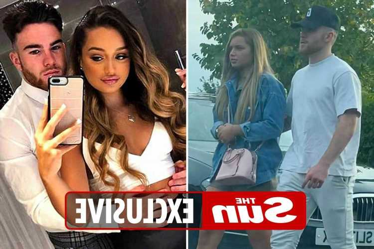 Love Island's Lucinda cosies up to Premier League star ex she claimed she split from before the show