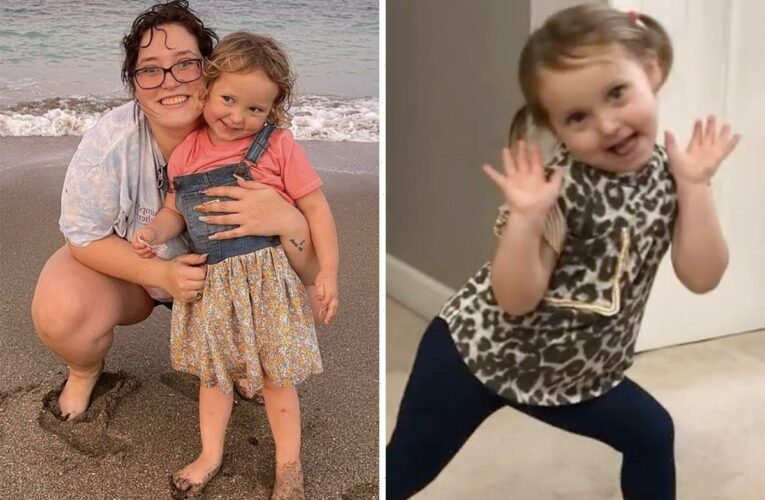 Mama June's daughter Pumpkin's little girl Ella, 3, dances in adorable video as aunt says she's a 'future DWTS winner'