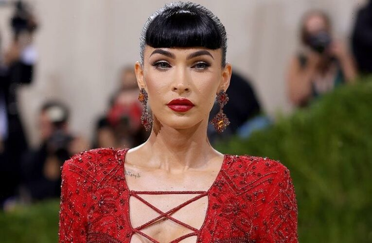 Megan Fox's Met Gala 2021 look is red hot: 'I'm not afraid to be sexy'