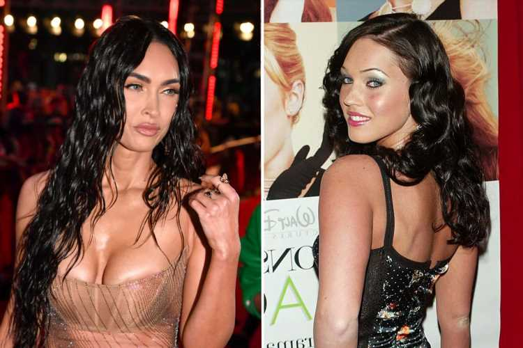 Megan Fox's astonishing transformation throughout the years – from bright-eyed Disney star to sex symbol