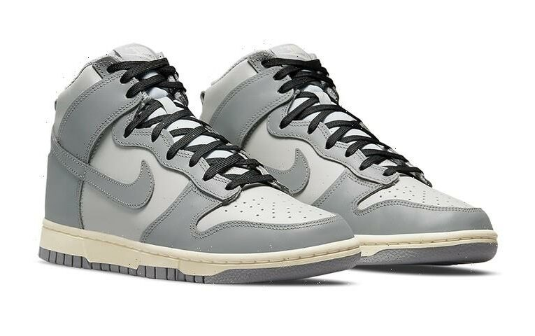 Nike Dunk High Emerges With Neutral-Toned Uppers and Aged Midsoles