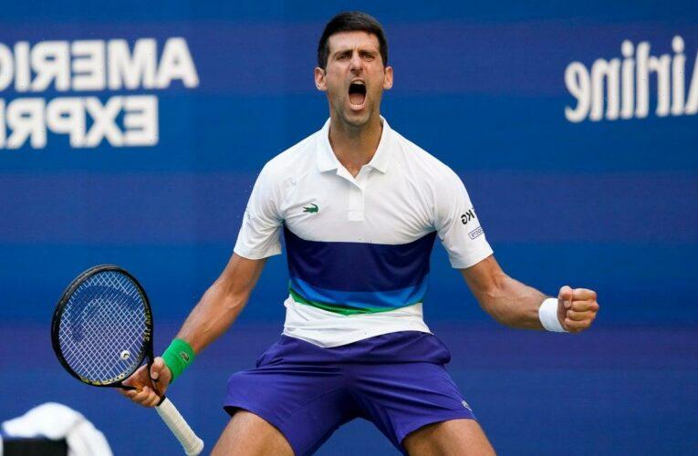 Novak Djokovic keeps calendar Grand Slam bid alive with win over Kei Nishikori