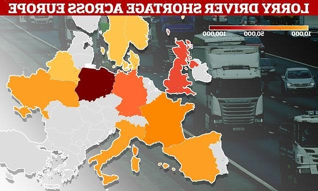 Now lorry driver shortage hits Europe