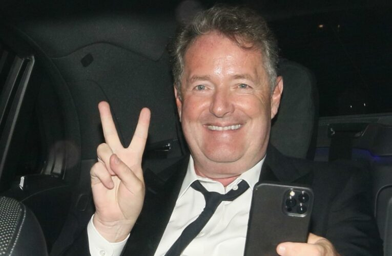 Piers Morgan jokes 'awks' after watching Prince Harry give surprise speech at GQ awards following Ofcom victory