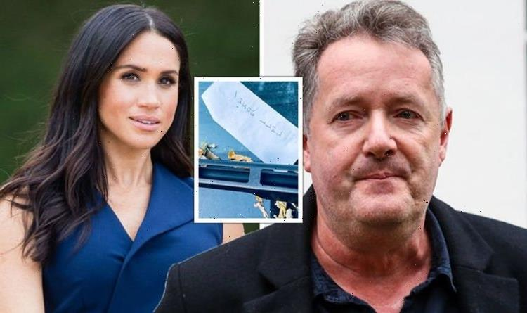 Piers Morgan's 'filthy' car note discovery after claiming 'victory' over Meghan Markle