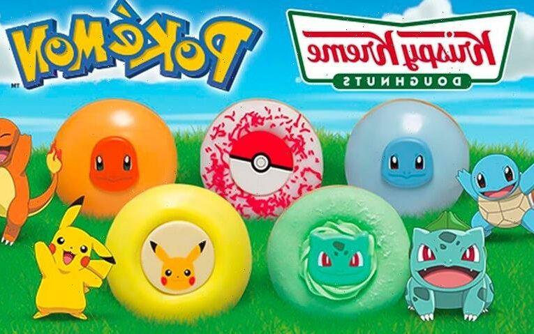 Pokémon Chooses Krispy Kreme For Next 25th Anniversary Release
