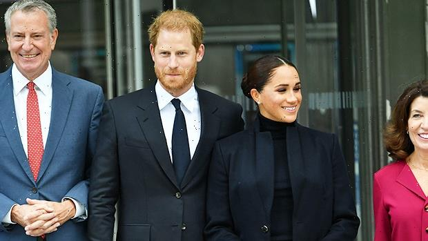 Prince Harry & Meghan Markle Visit One World Trade Center In 1st Public Outing Since Lilibets Birth