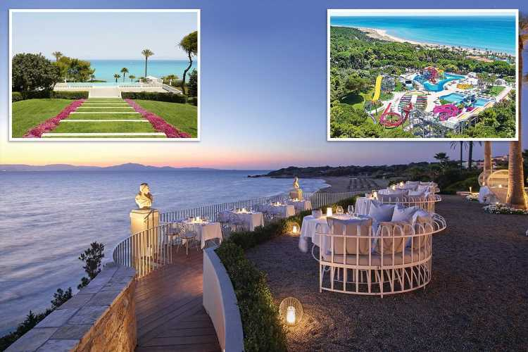 Relax at picture-perfect Mandola Rosa on Greece's Peloponnese peninsula
