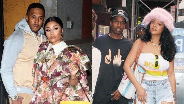 Rihanna & Nicki Minaj Appear To Squash Rumored Feud As They Reunite For Hang Out With Beaus — Photos