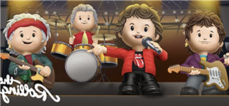 Rolling Stones Get Re-Imagined as Squeaky-Clean Toys With New Fisher-Price Collab