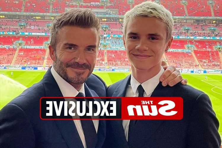 Romeo Beckham to make pro debut with David Beckham's son set to play on right wing for Fort Lauderdale