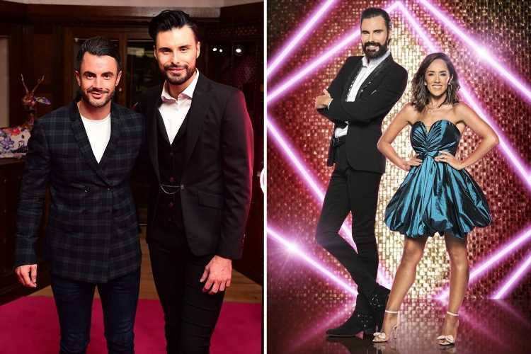 Rylan Clark-Neal prepares for It Takes Two return with spray tan as he focuses on work amid 'divorce' from husband Dan