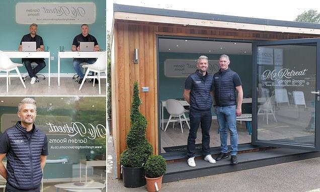 Savvy entrepreneur who launched a garden office business in lockdown