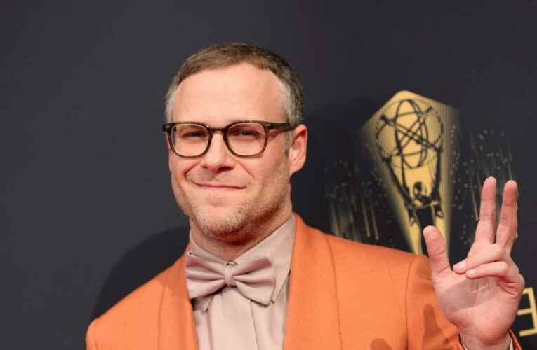 Seth Rogen Walked on Stage at the Emmys and Immediately Called Out How Unsafe It Seems