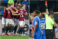 Sparta Prague 1 Rangers 0: Ten-man Light Blues suffer Europa League setback with defeat