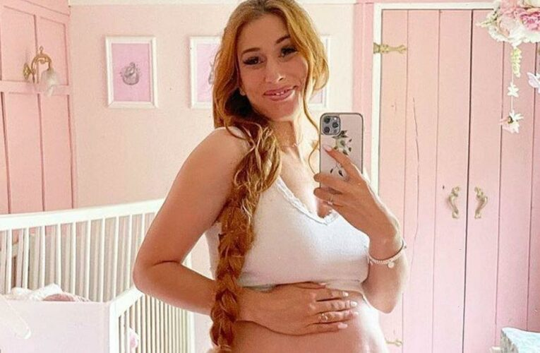 Stacey Solomon in panic nesting mode as she worries about baby girls arrival