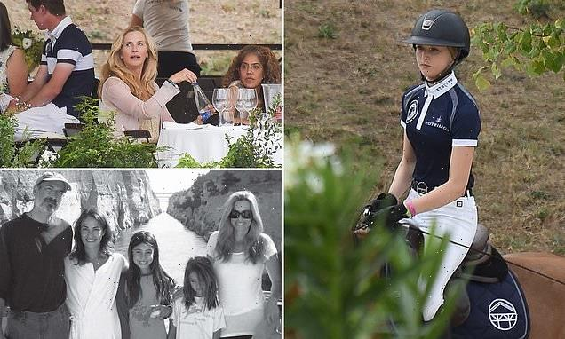 Steve Jobs's daughter competes at equestrian competition in Rome