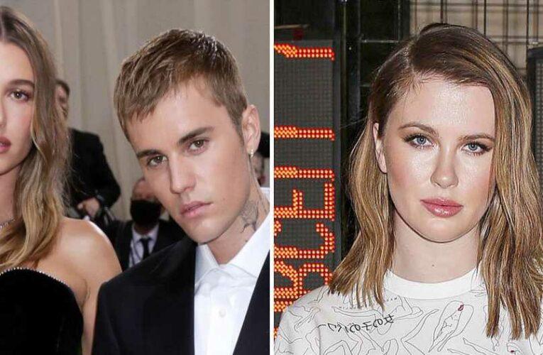 Team Bieber! Ireland BaldwinDefends Justin and HaileyAgainst Selena Fans