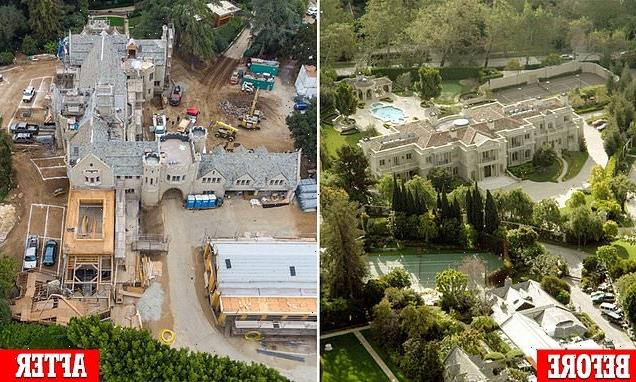 The Playboy Mansion has almost finished massive renovations