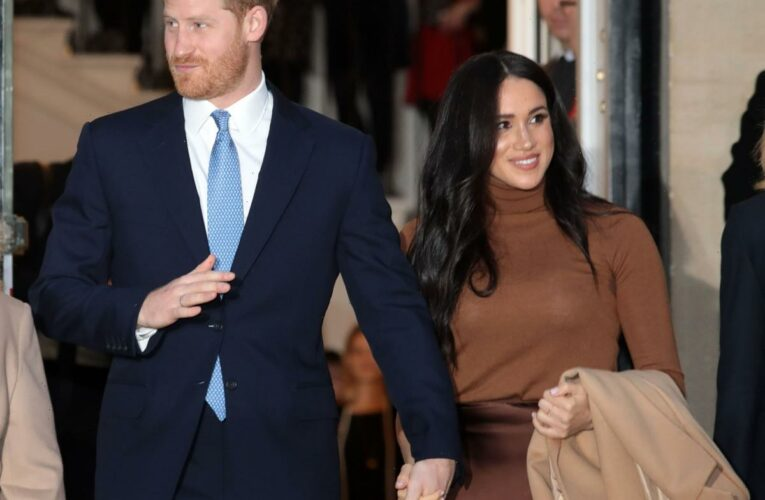 The Sussexes moved to Montecito after Oprah & other friends recommended it