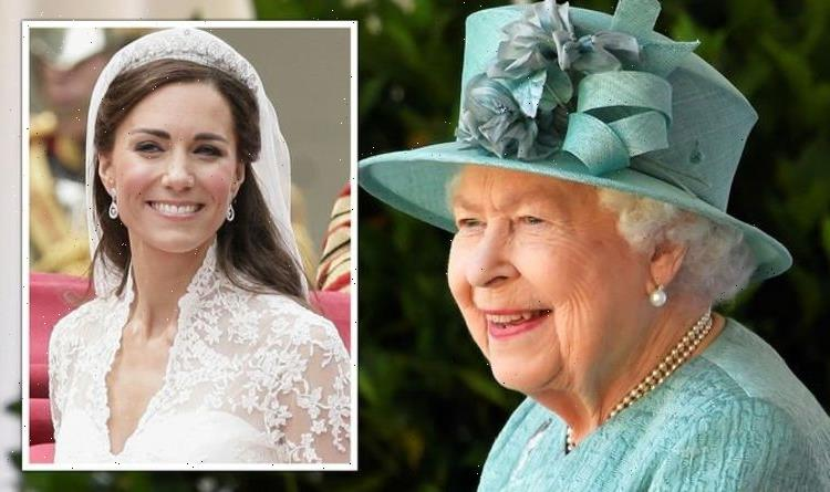 Three times Kate Middleton has dazzled in the Queens jewellery – photos