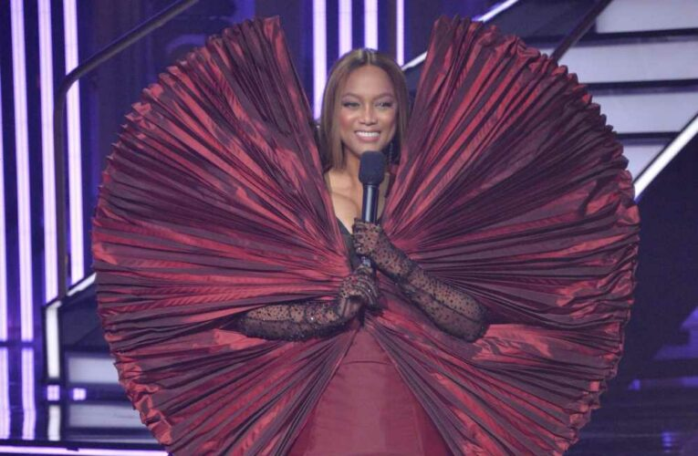Tyra Banks defends viral 'DWTS' dress: 'Different is better'
