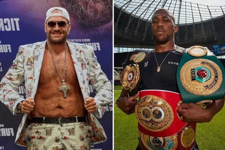 Tyson Fury 'trying to get' undisputed fight with Anthony Joshua booked for December as he sees 'no threat' from Wilder