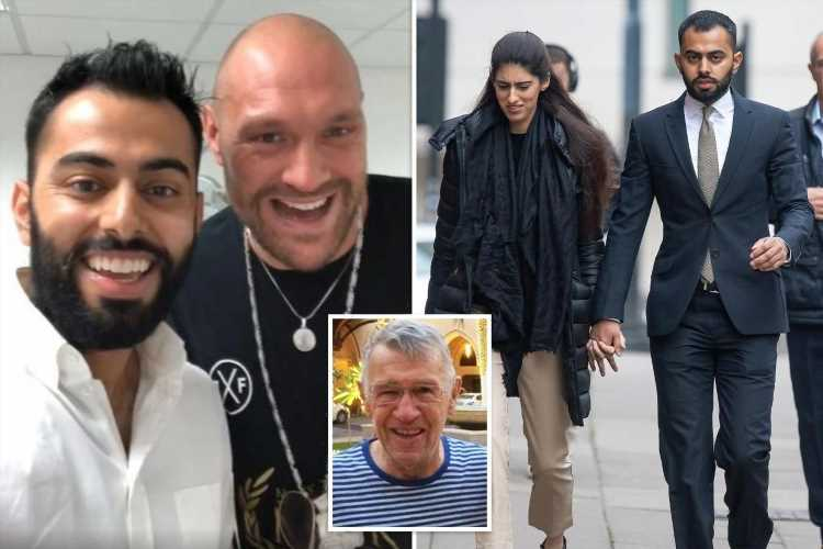 Tyson Fury's dentist walks free after killing a grandad with £90k Range Rover
