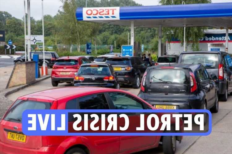 UK petrol shortage LIVE – BP, Esso and Tesco stations CLOSE as military may be drafted to drive lorries amid HGV crisis