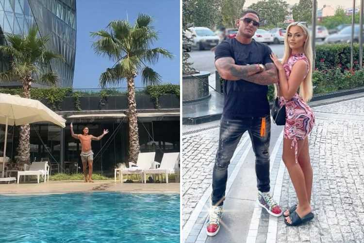 Vile Stephen Bear claims he's moving to Turkey full time and insists he'll marry sex tape partner Jessica Smith