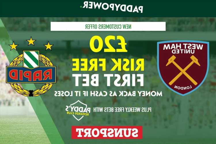 West Ham vs Rapid Vienna – Claim £20 risk FREE BET on Europa League clash, plus 57/1 Paddy Power special
