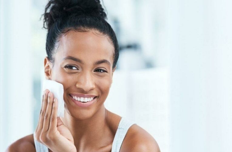 What are the benefits of double cleansing the skin and what products should you use?