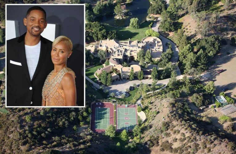 Will Smith and Jada Pinkett Smith are doing 'fine' after house fire
