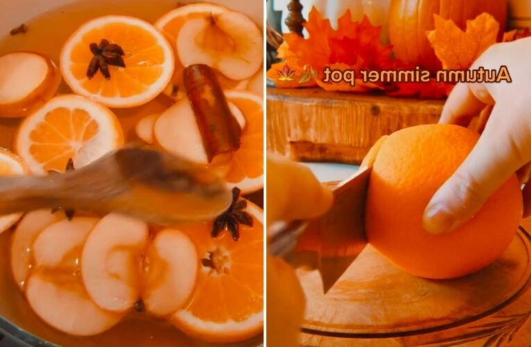 Woman reveals how to make your home smell amazing by making a fall-inspired simmer pot