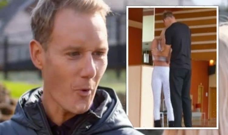 'Wallop in the chops!' Dan Walker forced to apologise after hitting Strictly partner