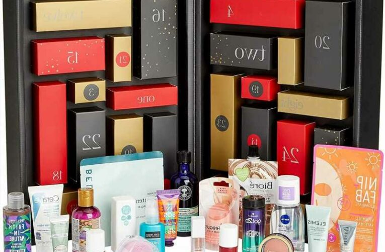 Amazon launch Beauty Advent Calendar 2021 for just £70 and it's worth over £260