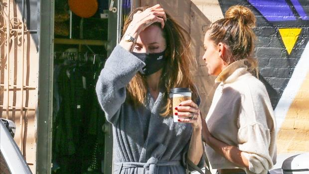 Angelina Jolie Spotted Shopping In LA After Dinner With Ex-Husband Jonny Lee Miller — Photo