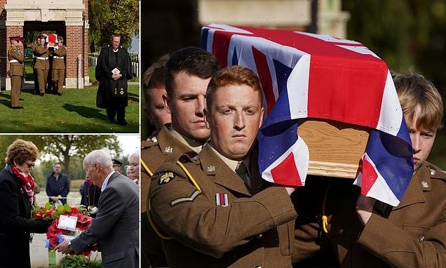 British soldier, 38, who died in the First World War laid to rest
