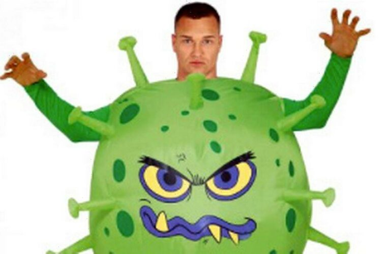 Coronavirus-themed Halloween costumes are now a thing – for kids and adults