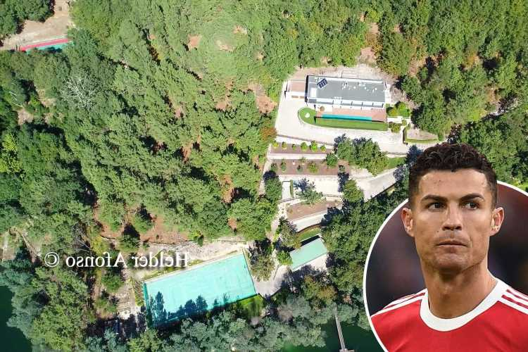 Cristiano Ronaldo ordered to tear down 'illegal' tennis court and extension built on Man Utd ace's £2.3m mansion