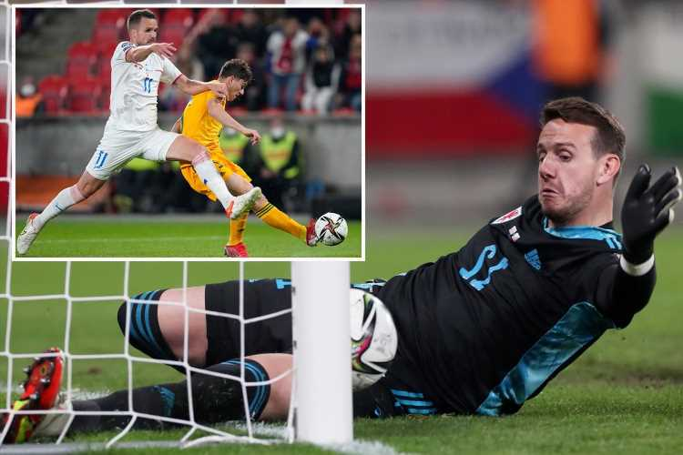 Czech Rep 2 Wales 2: Daniel James saves draw after Danny Ward and Aaron Ramsey howler in World Cup qualifier