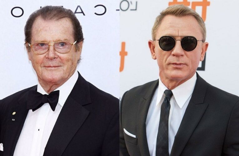 Daniel Craig Will Placed Next to Roger Moore on Hollywood Walk of Fame