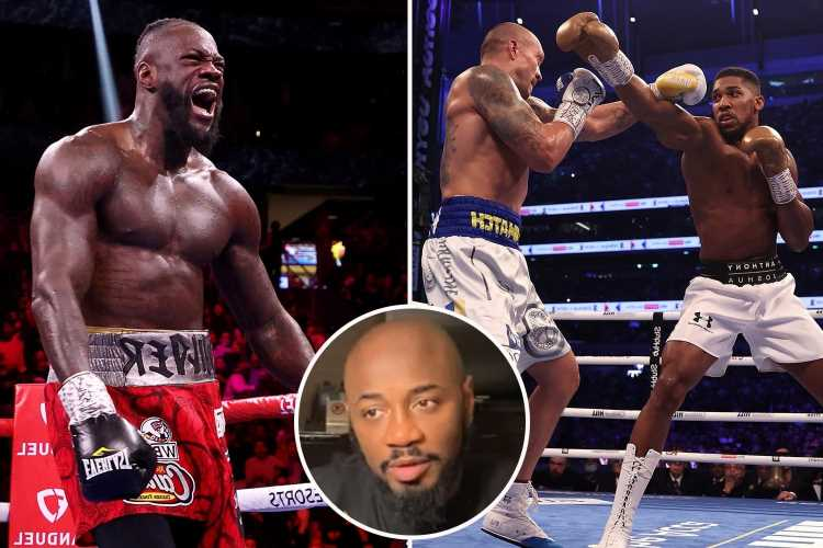 Deontay Wilder would do 'ten times better' against Usyk than Anthony Joshua despite Tyson Fury trilogy KO, says trainer
