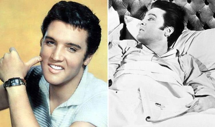 Elvis Presley's Graceland upstairs bedroom: King's nightly chant in bed with inner circle
