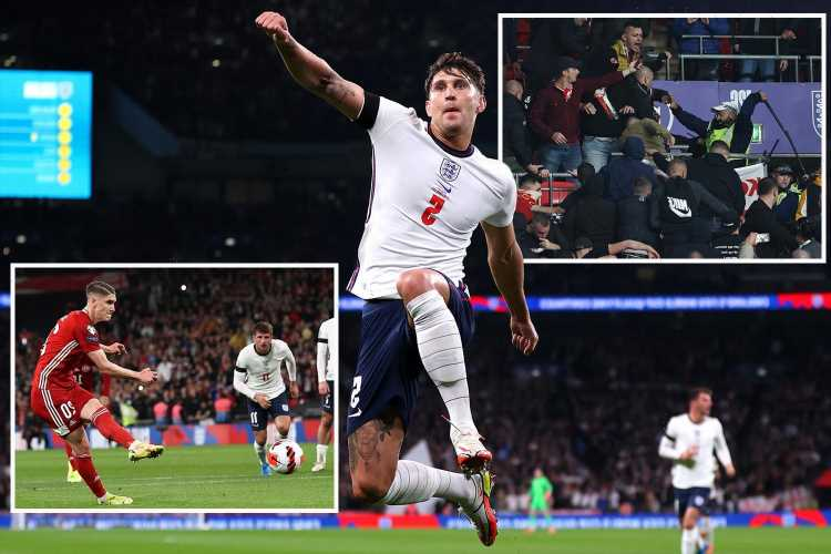 England 1 Hungary 1: Stones spares blushes but tame Three Lions fail to win home qualifier for first time since 2012