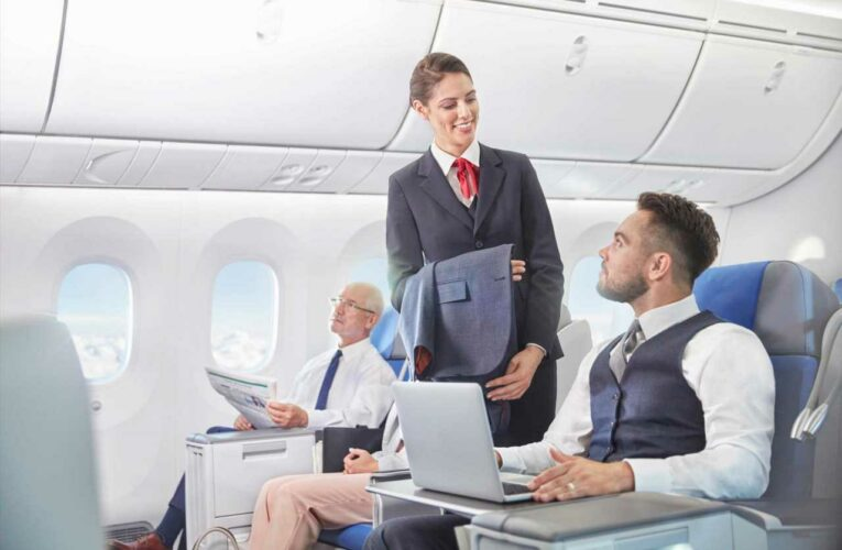 Flight attendant reveals how to get special treatment including free drinks
