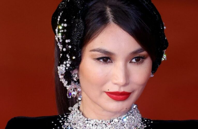 Gemma Chan is an infinite source of red lip inspiration