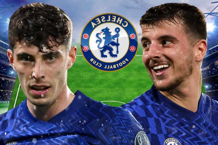 How Chelsea could line up against Norwich with NO striker after Lukaku, Werner and Pulisic all ruled out with injuries